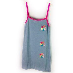 Desigual Dresses - DESIGUAL | dress knit tank crochet floral detail S